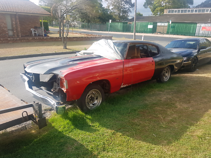 1971 chevelle malibu rolling shell no vin sell whole or wrecking