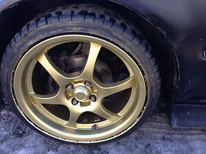 R14 rims and tires