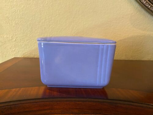 Hall China- Made for Westinghouse Azur Blue Refrigerator Storage - Vintage