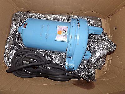 Barmesa 2bse52ss Submersible Non-clog Sewage Pump 0.5 Hp 230v 1ph Unused
