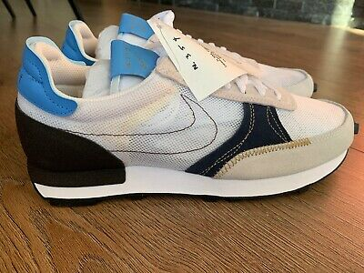 Nike Daybreak-Type UK8 White Blue Brown Gold BNIB