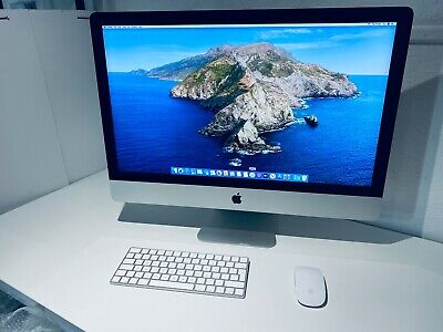 "Apple iMac 27"" 5K Retina 2015 Intel Core i7 4.0Ghz Quad Core 32GB 1TB Flash Dr"
