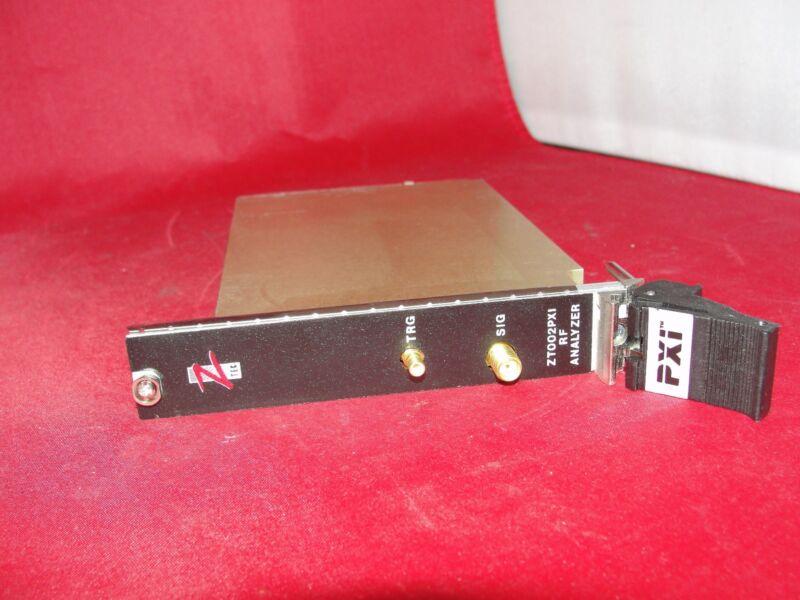 ZTECT Instruments ZT002PXI RF Signal Analyzer PXI