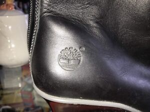 Black Vintage looking Timberland boots