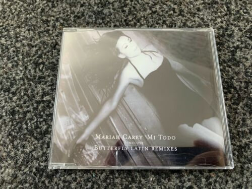 Mariah Carey MI TODO Mexican 5 Track CD Single Latin Remixes RARE