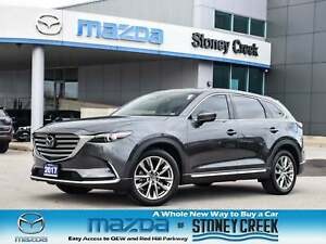 2017 Mazda CX-9 GT Nav Leather Heated Seats Bose Rear Cam