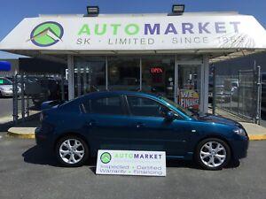 2007 Mazda Mazda3 IMMACULATE! SUNROOF! LOADED! FINANCE IT!