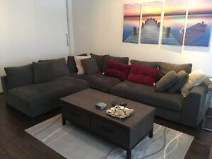 1 year old sectional couch/sofa