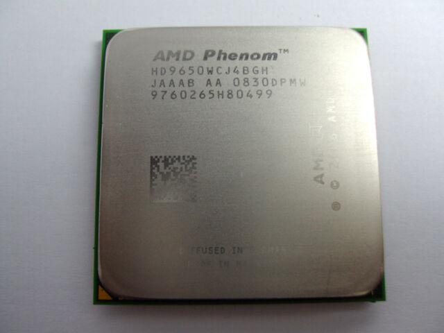 AMD Phenom X4 9650 2.3 GHz Quad-Core (HD9650WCJ4BGH) Processor w / Grease