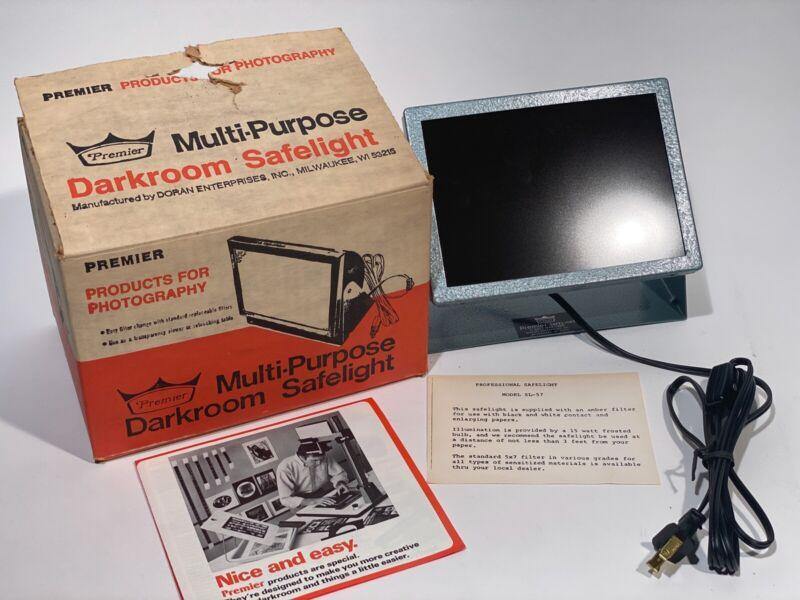 Vintage Premier Multi-Purpose Darkroom Safelight Model No. SL-5 - New Open Box