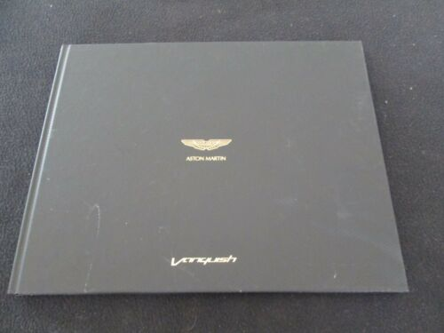 2012-2018 Aston Martin Vanquish Hardcover Sales Brochure V12 Coupe Catalog