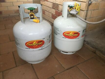 GAS CYLINDERS 2 x 8.5kgs