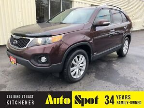 2011 Kia Sorento EXL UX/LOADED!/8PSGR/PRICED-QUICK SALE!