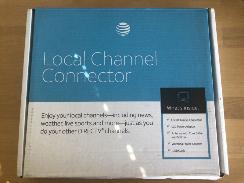 AT&T DirecTV Local Channel Connector Antenna Kit