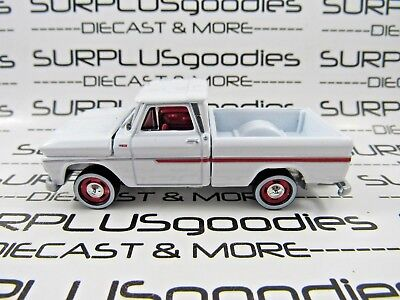 Johnny Lightning 1 64 Scale Loose Classic White 1965 Chevrolet C10 Pickup Truck