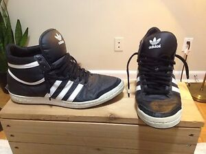 Adidas High top shoes size 10 London Ontario image 1