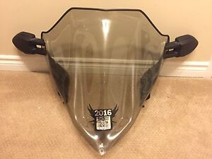 Arctic Cat Mid Windshield and Side Mirrors