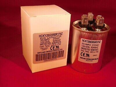 New 65uF 370Vac Motor Start Capacitor 370V AC 65mfd 97F8072 Pump Refirgerator