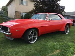 COMPLETE NEW 1969 CAMARO ALL PARTS REPLACED ON 50K US REBUILD