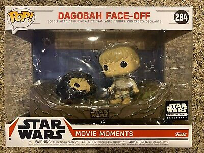 Funko POP! Star Wars - Movie Moments - #284 Dagobah Face Off Luke Skywalker