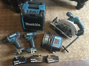 Makita M18 Cordless Combo Kit