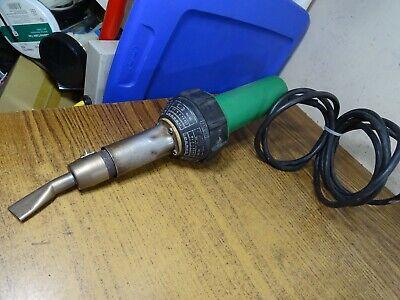 Leister Corded Hot Air Tool Heat Gun Welder W Tip