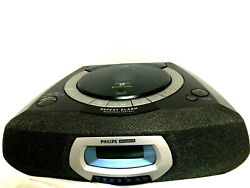 Philips Magnavox AJ 3935/17 Compact Disc Player Dual Alarm Clock AM/FM Radio