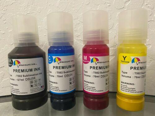 Sublimation Refill Ink For Epson 502 T5021-T5024 ET2750 2760 3710 3760 4760