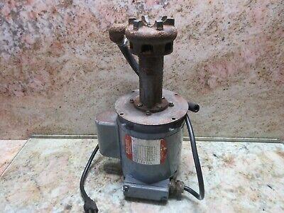 Ruthman Motor 1p3-s 34-3818-4195 Ser W1086 Gusher Coolant Pump Ip3-s Takisawa