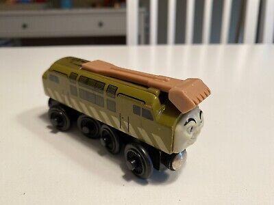Thomas & Friends Wooden Railway Train Diesel 10 Engine 2003 Learning Curve VGUC!