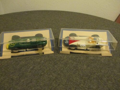 VINTAGE MARX ELECTRIC 1/32 SET-CARS 2268 WILLARD BATTERY SPECIAL+2267 LOTUS FORD