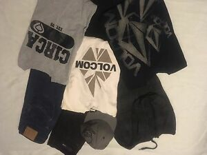 Brand Name teenage/young men's clothing lots