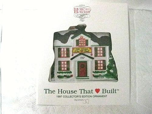 Dept 56 Village RONALD McDONALD HOUSE The House That Love Built 1997 Ornament ob