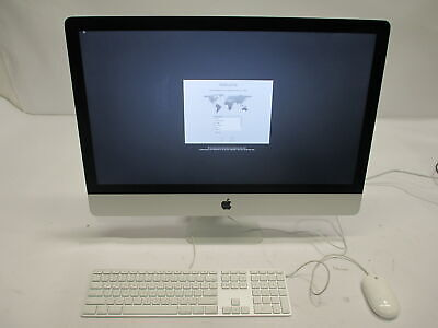 "Apple iMac 27"" A1419 ME089LL/A Late-2013 i5-4670 3.4GHz 16GB 1TB Fusion Drive"