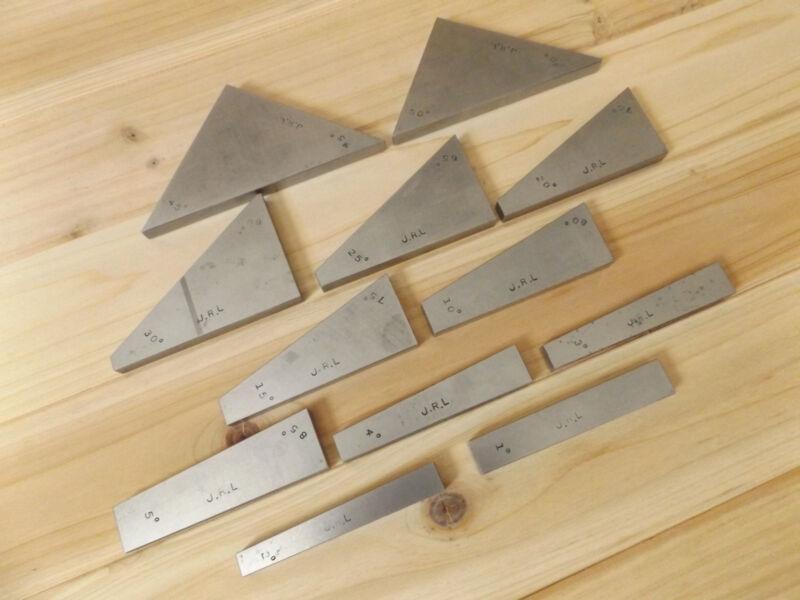 Flat Precision Double Angle Blocks, Hardened & Ground. (USA)