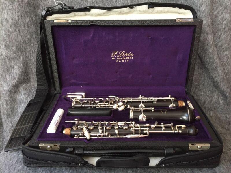 Brand New F Loree Professional Oboe, Near Mint, Hard and Soft Case, Accessories