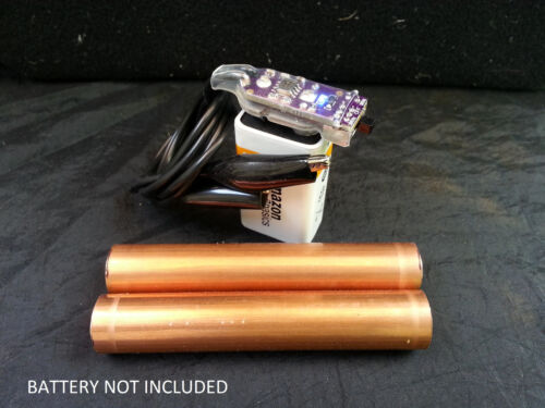 Dual Frequency BATTERY MOUNTED - 30KHz HULDA CLARK ZAPPER with 5KHz Added