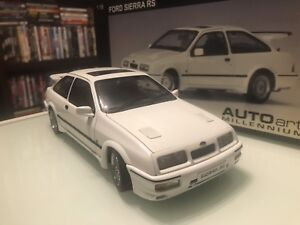 1/18 DIECAST AUTOART/MINICHAMPS FORD SIERRA RS COSWORTH 500 MANY