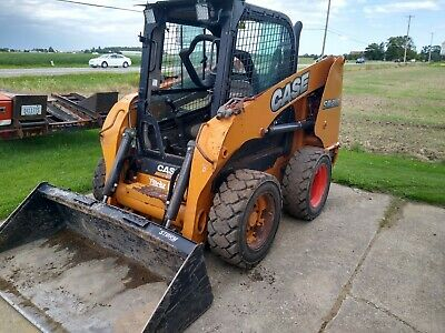 2015 Case Sr210 Skid Steer Loader