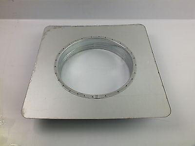 Ansaugstutzen für Wandhaube 200mm Abzugshaube Bundkragenplatte