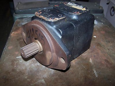 New Vickers Hydraulic Single Vane Pump 35v25a-11g22r Cw Rotation 4.94 In3r