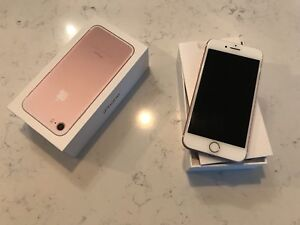 iPhone 7 Rose Gold 32GB Bell Mobility - Used (Like New)