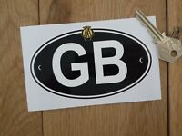 Great Britain Travelling Bumper Boot Badge Sticker Plate Magnetic GB