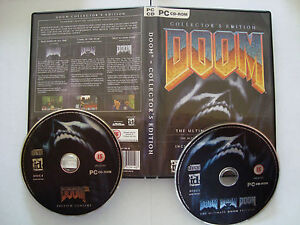 DOOM  COLLECTOR`S EDITION PC CD (2 discs)