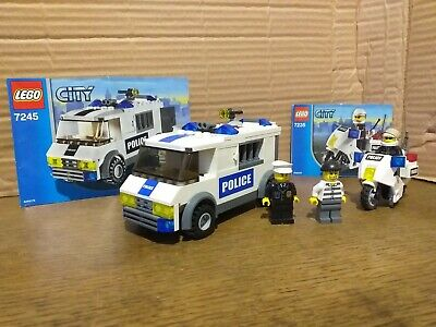 Lego City Police lot 7245 & 7235 100% complet avec instructions