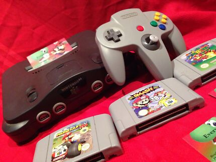 Buying Nintendo 64 & Super Nintendo North Perth Vincent Area Preview