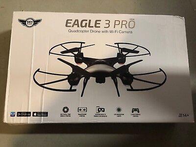 Drone-Sky Rider Eagle 3 Pro Quadcopter Drone with Wi-Fi Camera box damage (18b)