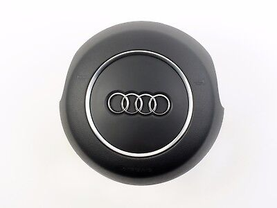 AUDI S LINE A6 A7 A8 DRIVER STEERING WHEEL AIRBAG 2012 2013 2014 2015 BLACK