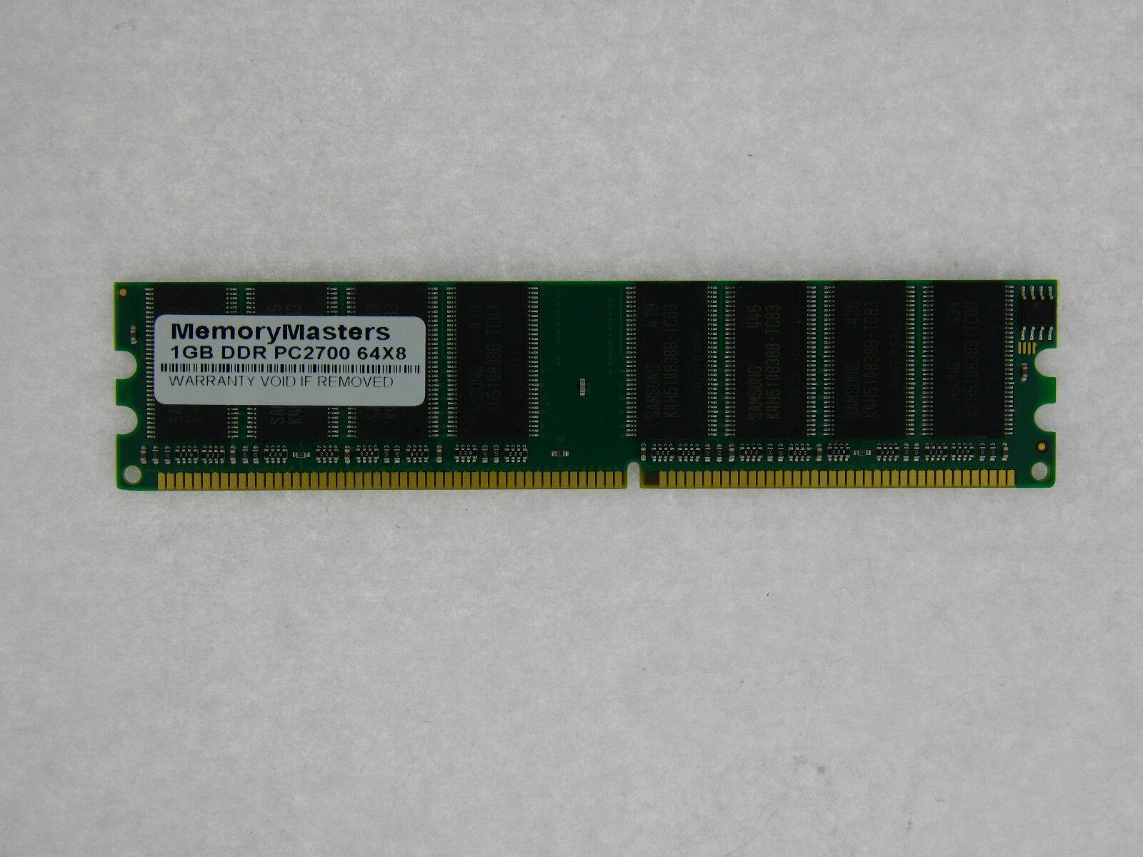 1GB DDR MEMORY RAM PC2700 ECC REG DIMM 184-PIN 333MHZ