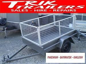 6x4 trailer and cage Pakenham Cardinia Area Preview